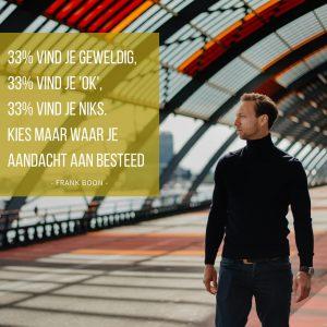 Frank Boon - 33% regel